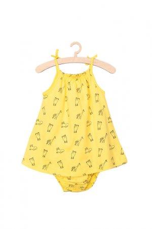 Песочник для девочек 5.10.15.. Цвет: желтый