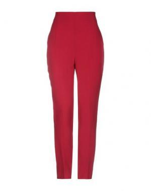 Повседневные брюки KI6? WHO ARE YOU?. Цвет: красно-коричневый