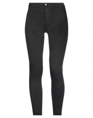 Джинсовые брюки DON THE FULLER. Цвет: черный