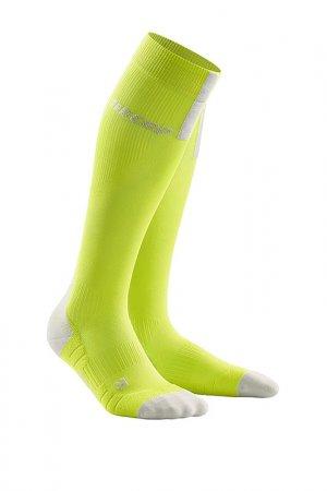 Компрессионные гольфы для бега CEP. Цвет: желтый