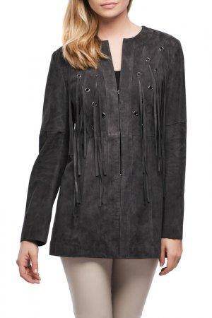 Coat Giorgio. Цвет: dark grey