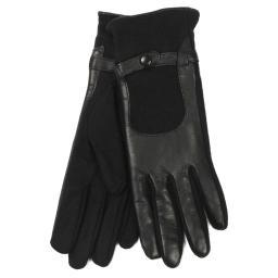 Перчатки 2775 черный AGNELLE