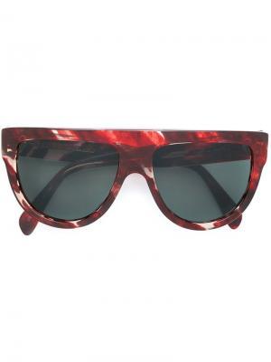 Aviator sunglasses Celine Eyewear. Цвет: красный
