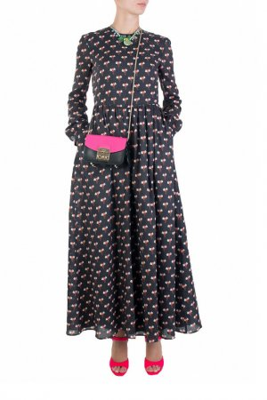 Платье Au Jour Le. Цвет: черный