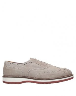 Обувь на шнурках MFW COLLECTION. Цвет: светло-серый