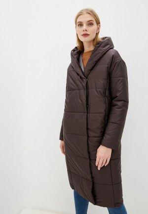 Куртка утепленная Ovelli. Цвет: коричневый