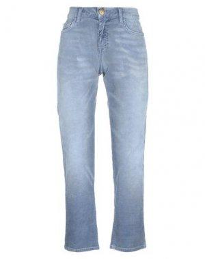 Повседневные брюки CURRENT/ELLIOTT. Цвет: грифельно-синий