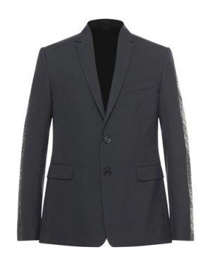 Пиджак FENDI. Цвет: черный