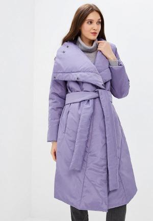 Куртка утепленная Мамуля красотуля ..в ожидании чуда. Цвет: фиолетовый