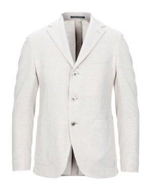 Пиджак CANTARELLI JERSEY PLANET. Цвет: бежевый