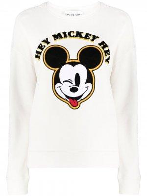 Толстовка с нашивкой Mickey Mouse Iceberg. Цвет: нейтральные цвета