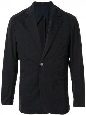 Пиджак без подкладки Venroy. Цвет: синий