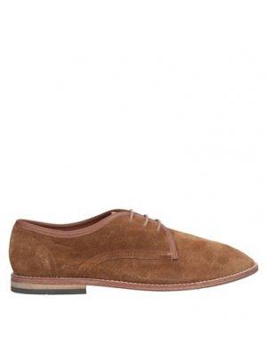 Обувь на шнурках HUDSON. Цвет: коричневый