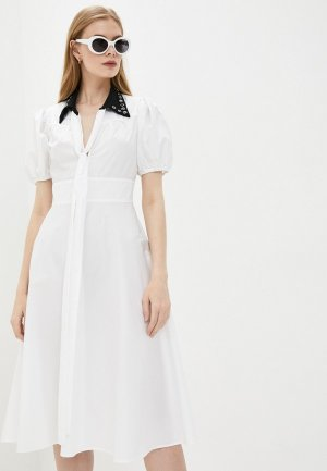 Платье N21. Цвет: белый