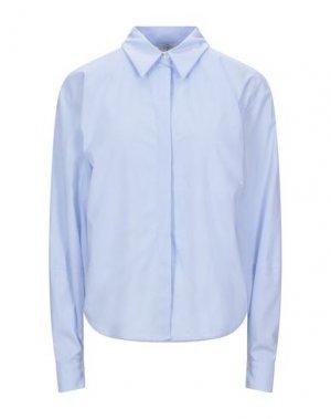 Pубашка EMMA & GAIA. Цвет: небесно-голубой