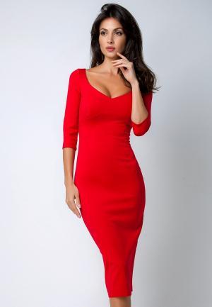 Платье Olga Skazkina. Цвет: красный