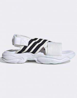 Белые сандалии Magmur-Белый adidas Originals