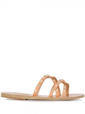 Сандалии Revekka с люверсами Ancient Greek Sandals. Цвет: нейтральные цвета