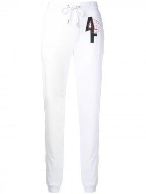 Спортивные брюки с логотипом A.F.Vandevorst. Цвет: белый