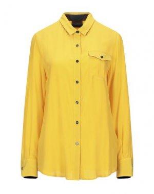 Pубашка ATOS LOMBARDINI. Цвет: желтый