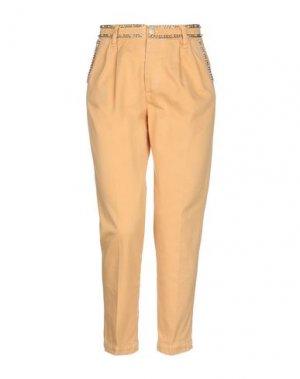 Повседневные брюки FEMME by MICHELE ROSSI. Цвет: абрикосовый