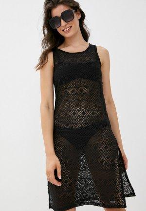 Платье пляжное Joss. Цвет: черный