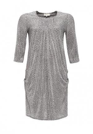 Платье Bassini. Цвет: серый