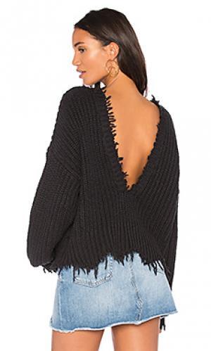 Пуловер palmetto Wildfox Couture. Цвет: черный