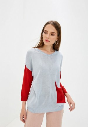 Пуловер Maria Velada. Цвет: голубой
