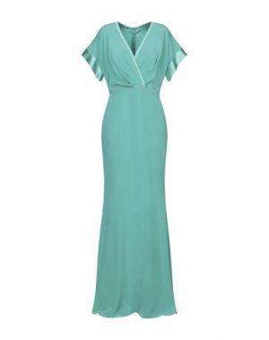 Длинное платье ATELIER NICOLA D'ERRICO. Цвет: зеленый