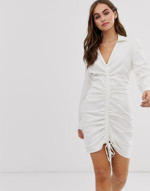 Платье-рубашка со сборками Emory Park