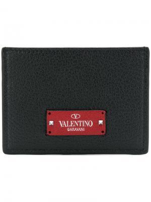 Garavani slip wallet Valentino. Цвет: чёрный