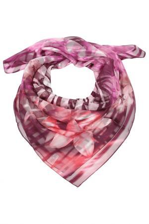 Платок F.FRANTELLI. Цвет: розовый, сиреневый