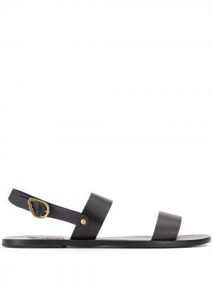 Сандалии с ремешком на пятке Ancient Greek Sandals. Цвет: черный