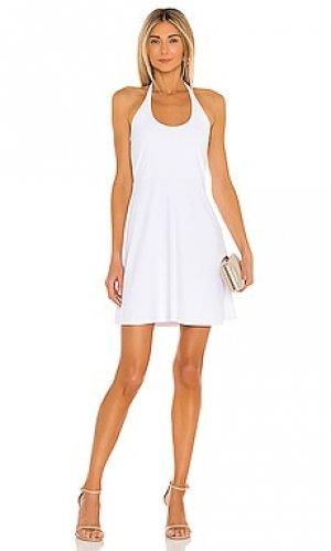 Мини платье Susana Monaco. Цвет: белый