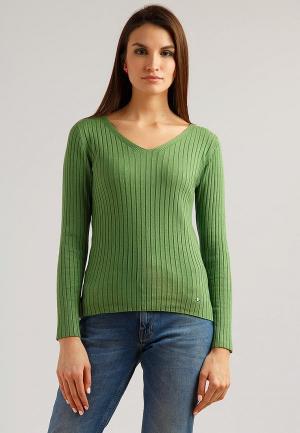 Пуловер Finn Flare. Цвет: зеленый