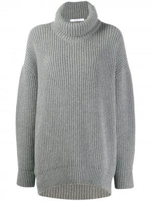 Водолазка оверсайз Givenchy. Цвет: серый