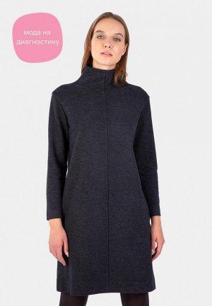 Платье Энсо. Цвет: серый