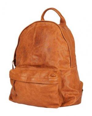 Рюкзаки и сумки на пояс OFFICINE CREATIVE ITALIA. Цвет: верблюжий