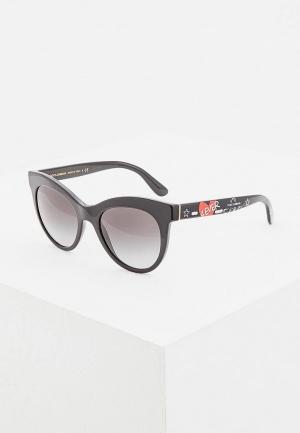 Очки солнцезащитные Dolce&Gabbana DG4311 31808G. Цвет: черный