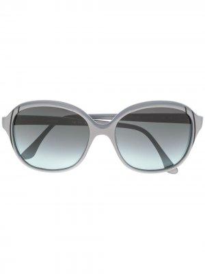 Массивные солнцезащитные очки 1970-х годов с эффектом градиента Pierre Cardin Pre-Owned. Цвет: серый
