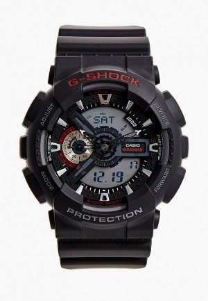 Часы Casio G-SHOCK GA-110-1A. Цвет: черный