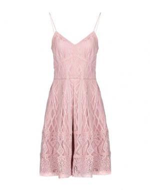 Платье до колена DRY LAKE.. Цвет: розовый