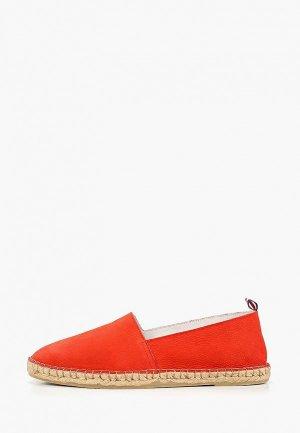 Эспадрильи Dali. Цвет: красный