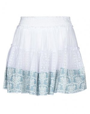 Мини-юбка F**K PROJECT. Цвет: белый