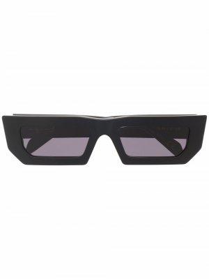 Солнцезащитные очки Sunset в прямоугольной оправе Retrosuperfuture. Цвет: черный