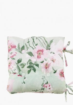 Подушка на стул Kauffort Naturel. Цвет: зеленый