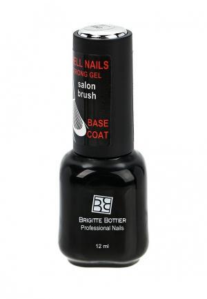 Гель-лак для ногтей Brigitte Bottier Shell Nails base coat. Цвет: прозрачный