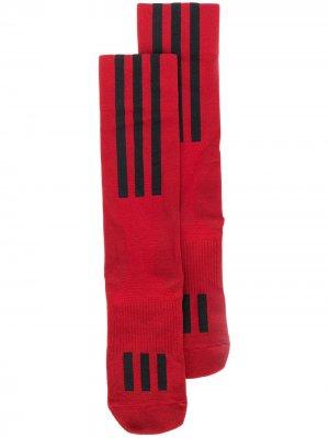 Спортивные носки Y-3. Цвет: красный