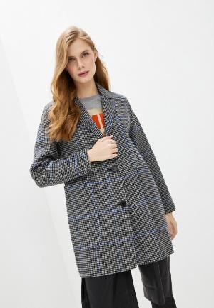 Пальто Bimba Y Lola. Цвет: серый